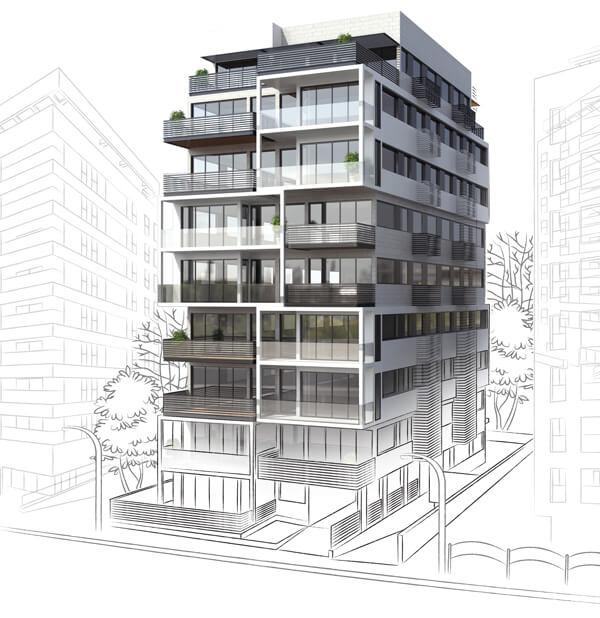 """דירות למכירה ברמת השרון - פרויקט תמ""""א 38/2"""